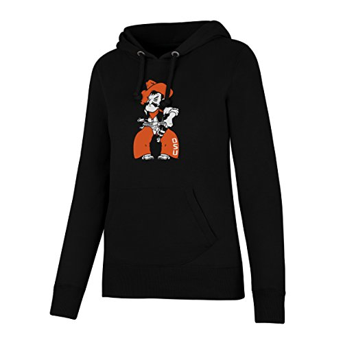 Oklahoma State Fleece Throw - NCAA Oklahoma State Cowboys Women's OTS Fleece Hoodie, Jet Black, Large