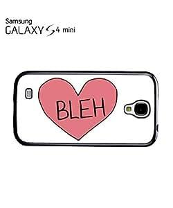 Bleh Broken Pink Heart Whatever Mobile Cell Phone Case Samsung Galaxy S4 Mini Black