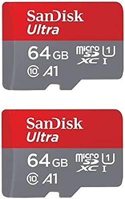 SanDisk Ultra Plus - Tarjeta de 64 GB microSDXC UHS-I con ...