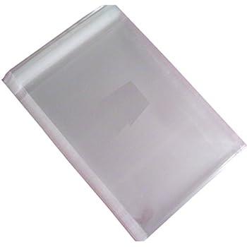 Amazon.com: 200 piezas 3 x 4 inch transparente autoadhesiva ...