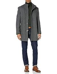 Hart Schaffner Marx (HARKD Men's Wool Blend Coat, Gray, Small