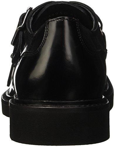 Geox U Damocle D, Zapatos de Cordones Derby para Hombre Schwarz (BLACKC9999)