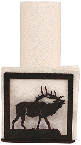 Coast Lamp Iron Elk Short Paper Towel/Napkin Holder
