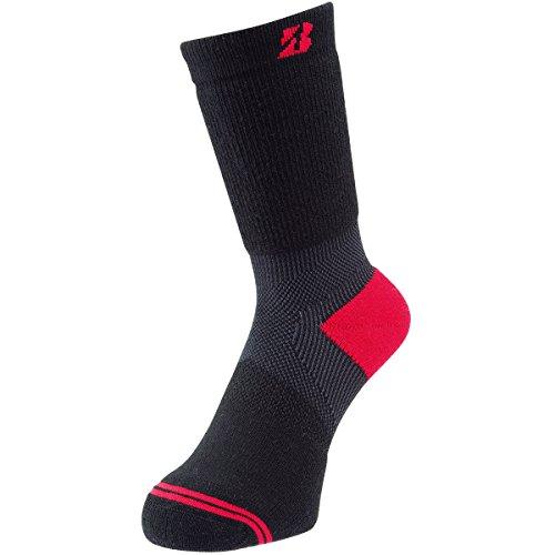 葉巻重くするナイロンブリヂストン BRIDGESTONE GOLF 靴下 ウィンター アンクルホールド ハイパーソックス SOWG63 ブラック フリー