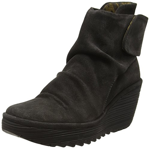 Fly Diesel 003 Mujer Yegi689fly London Botines para Gris gvgqfrxw