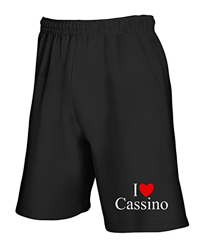 Tlove0106 Pantaloncini I Tuta Love Nero Heart T shirtshock Cassino wTxqCpIpB