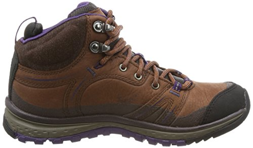 Pictures of KEEN Women's Terradora Leather mid wp- Brown 3