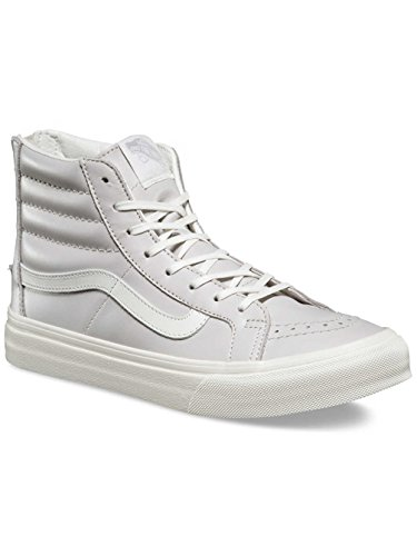 Vans Damen UA Sk8-Hi Slim Zip Sneaker (leather) wind chime/blan