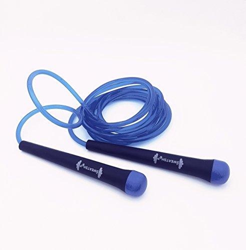 The Sweatshop Essentials Plastic Essentials Jump Rope (Black)