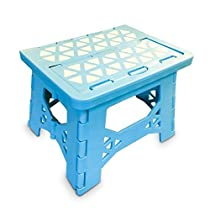Bula Baby Folding Step Stool For Kids - New Safe Locking System and Non Slip Feet Grip