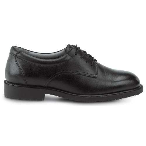 SRMax Mens Arlington Slip Resistant Dress Shoe (11.0 EW, Black)