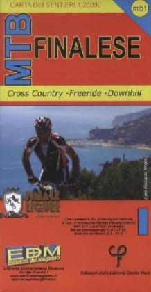 MTB Finalese  (Finale Ligure) 1 : 25.000: Cross Country-Freeride-Downhill. Topographische Fahrradkarte