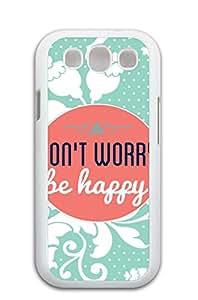 "Mldierom ""Fashion?Case"" Lace Pattern Hard Shell Case for Galaxy S3 White Cuptakes Wallpaper Hakuna Matata"