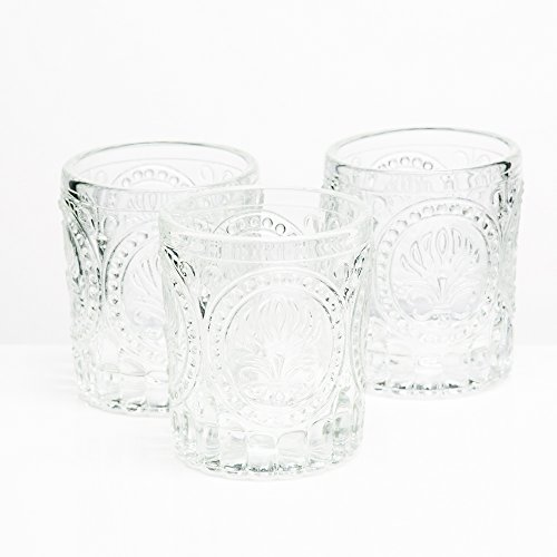 (Richland Votive Holder Clear Textured Glass Set of 12)
