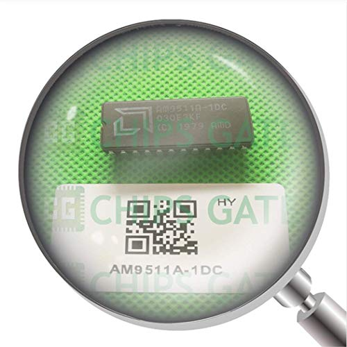 AMD AM9511 AM9511A AM9511A-4DC Vintage Arithmetic Logic Processor IC CDIP24x5PCS