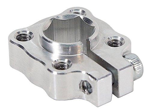 3/8 inch Hex Bore Clamping Hub ServoCity 545672