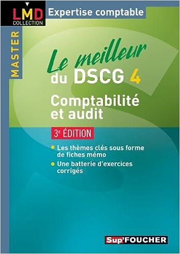 En ligne téléchargement Le meilleur du DSCG 4 Comptabilité audit 3e édition pdf, epub ebook