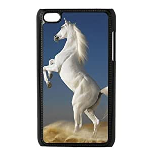 Ipod Touch 4 The Horse Phone Back Case DIY Art Print Design Hard Shell Protection YT100200
