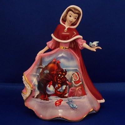 Disney Belle's Wish Bradford Exchange Bell Figurine