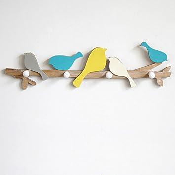 Kreative Vogel Haken Haken Umkleidekabine Eingang Mauer Hängen