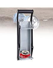 BIWASimple 16oz Kan Breker Op Zwaar Werk Berekende,Hoge Hand Vuilnis Smasher Muur Gemonteerd,Plastic Fles Brekers Voor Recycling