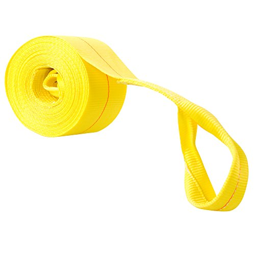 UPC 813709015127, 30' Heavy Duty Vehicle Towing Recovery Strap