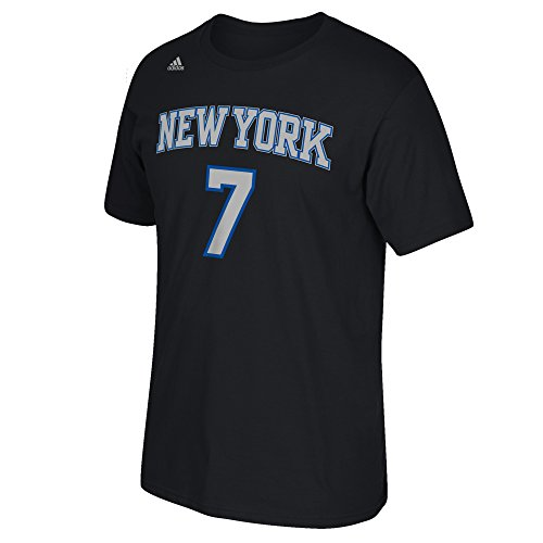 Nba New York Knicks Carmelo Anthony  7 Mens Game Time Short Sleeve Go To Tee  Large  Black