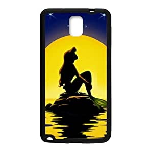 Beautiful sea yellow moon Mermaid Cell Phone Case for Samsung Galaxy Note3