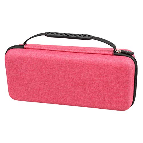 Hard Carrying Travel Case Bag Compatible Dyson Supersonic Hair Dryer by Aproca (red-Style 1)