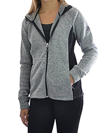 Zeroxposur Womens Performance Zip Up Fleece Jacket Small