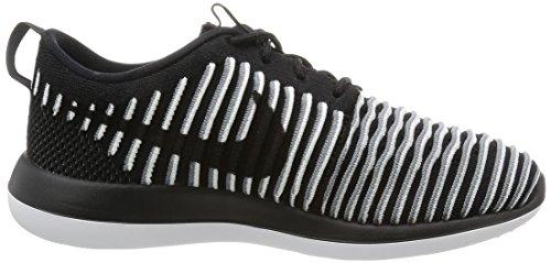 Two Roshe Entrainement Running Noir blanc cool W Femme Chaussures Noir Flyknit Black Gris de Nike Noir q5naE0pWw