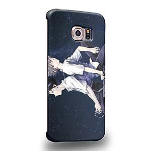 Case88 Premium Designs Neon Genesis Evangelion Shinji Ikari Kaworu Nagisa 1122 Carcasa/Funda dura para el Samsung Galaxy S6 Edge (No Normal S6 !)