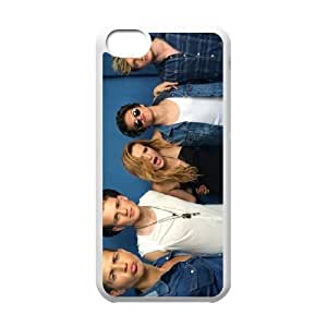 The Vamps iPhone 5c Cell Phone Case White DIY Gift zhm004_0479203