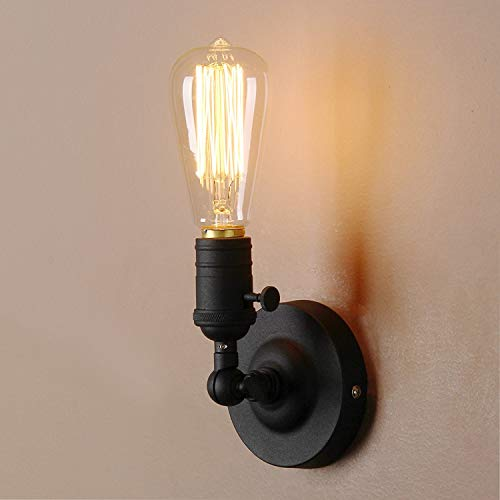 PATHSON VINTAGE INDUSTRIAL STYLE SCONCE IRON WALL LAMP COFE RUSTIC WALL LIGHTING