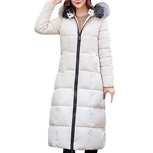 Piuma Primavera Plus Bianco Moda Lady Giacca Saldi elegante cotone lana invernale da Autunno piuma a Cappotto in Size paolian cappuccio con in donna vento Lady Giacche lungo wpROfBq