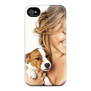 RachelMHudson OVmRpEZ4388tLOXr Protective Case For Iphone 4/4s(women Dog)