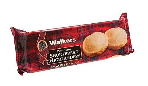 Highlander Shortbread - Walkers Highlanders Shortbread 200 g (Pack of 12)
