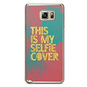 Selfie Samsung Note 5 Transparent Edge Case - This is my selfie Case