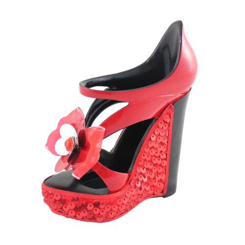 jacki-design-glamour-nite-platform-cell-phone-holder-brush-holder-red