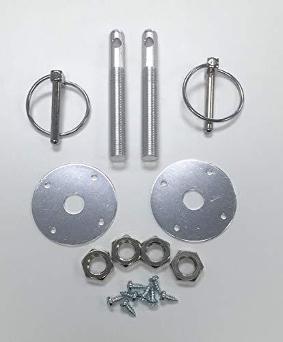 - Muscle Car Silver Aluminum 3/16