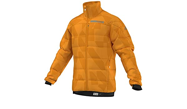 38e4e1b49 Adidas Outdoor 2017 Men s Terrex SkyClimb Alpha Jacket (EQT Orange - M)   Amazon.ca  Sports   Outdoors