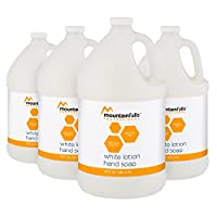 Mountain Falls Professional White Lotion Liquid Hand Soap Refill, 128 Fluid Ounce (Pack of 4)
