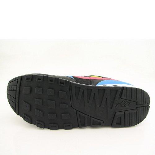 Nike Mens Luft Hugg Svart / Flamingo-ljusa Kaktus 316402-081 Sko