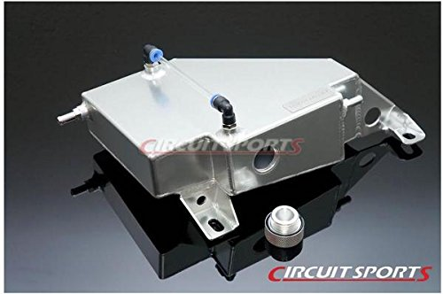 Circuit Sports Coolant Overflow Tank for Nissan 95-98 S14 240SX Aluminum by Circuit Sports