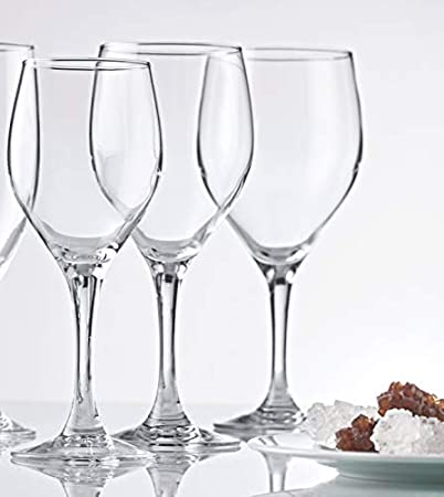 Hostelvia - Copas de Vino Vintage 420 ml - Pack de 6 - Cristal Templado Resistente - Apto para Lavavajillas - Copas Vino