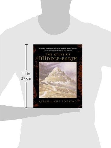 The Atlas of Middle-Earth: Amazon.es: Karen Wynn Fonstad, J. R. R. Tolkien, Christopher Tolkien: Libros en idiomas extranjeros