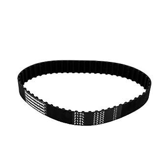 eDealMax 210L 56 Dientes síncrona temporización de bucle cerrado del cinturón de goma 533 mm Perímetro Negro: Amazon.com: Industrial & Scientific