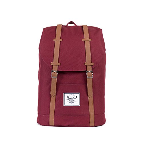 Herschel Retreat Backpack - Windsor Wine (Best Herschel Backpack For High School)