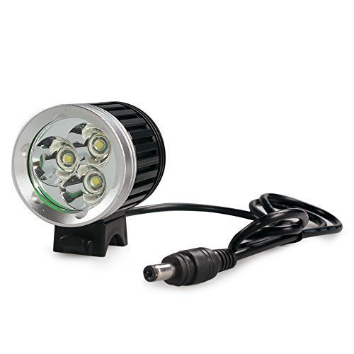 183 opinioni per LEDemain 3 LED T6 CREE XM-L Torcia da testa Lampada frontale Bici Faro, 4200LM,
