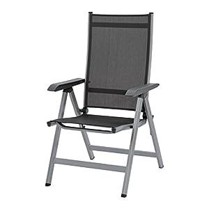kettler basic plus multipositionssessel silber anthrazit sehr hochwertiger preiswerter und. Black Bedroom Furniture Sets. Home Design Ideas